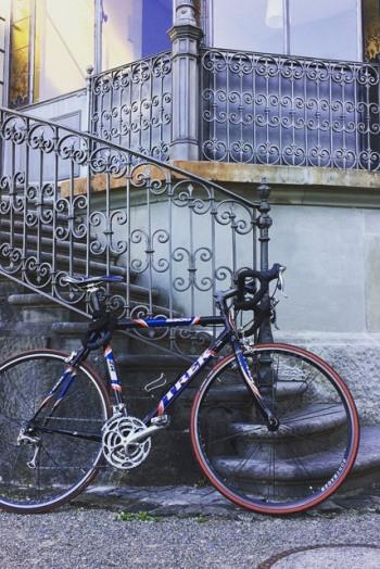 Fahrrad im Rychenbergpark