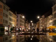 Sommer-Freitagnacht in der Steinberggasse