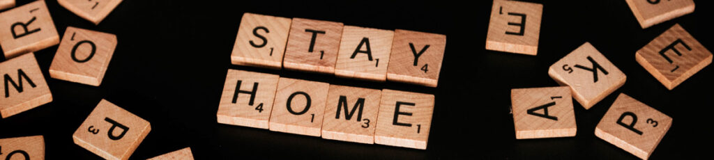 Scrabble: stay home