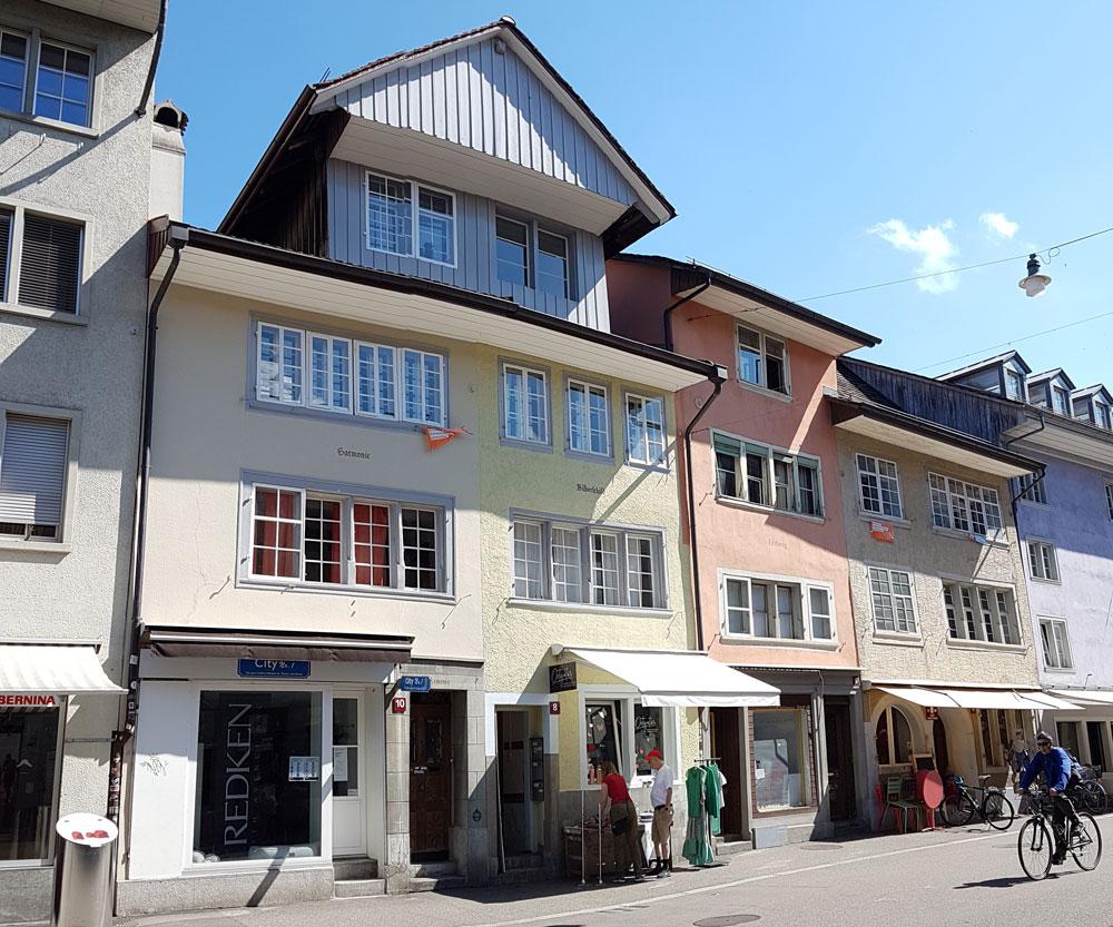 Häuser Steinberggasse 4,6 und 10