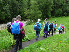 Obertorwandern: Wandergruppe